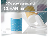 [100% pure essential oil] CLEAN air