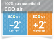 [100% pure essential oil] ECO air